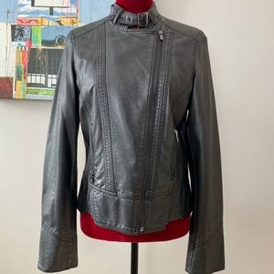 Black Rivet jacket from Wilson's Leather